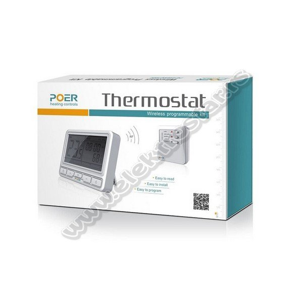 TERMOSTAT WiFi POER PS15WKQ1020