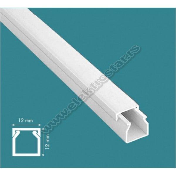 PVC KANAL 12X12 X2000 (150)