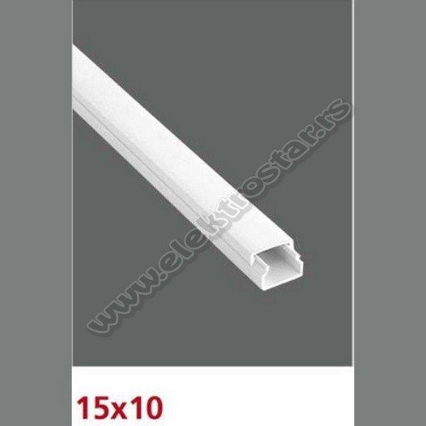 PVC KANAL 15X10 X2000 (100)