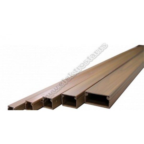 PVC KANAL 16X16 X2000 TAMNI ORAH