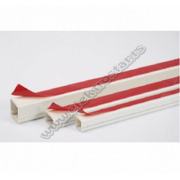 PVC KANAL 16X16 SAMOLEPLJIVA (125)