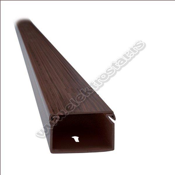 PVC KANAL 25X25X2000 TAMNI ORAH