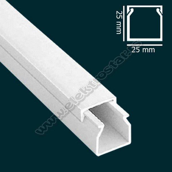 PVC KANAL 25X25 X2000 (25)
