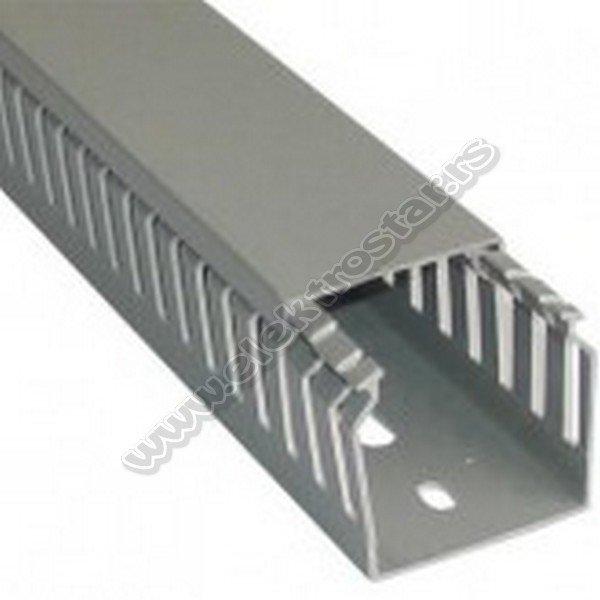 PVC KANAL 30X40 SLICOVANI sivi