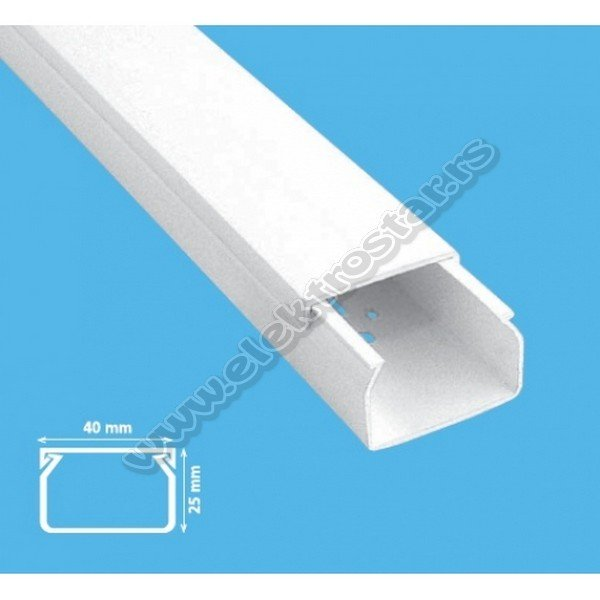 PVC KANAL 40X25 X2000 (42)
