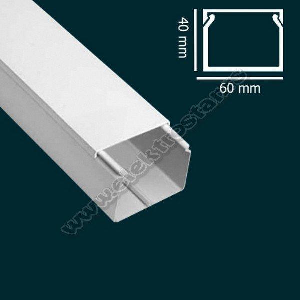 PVC KANAL 60X40 X2000 (20)
