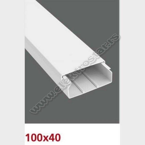 PVC KANAL 100X40 X2000 (10)