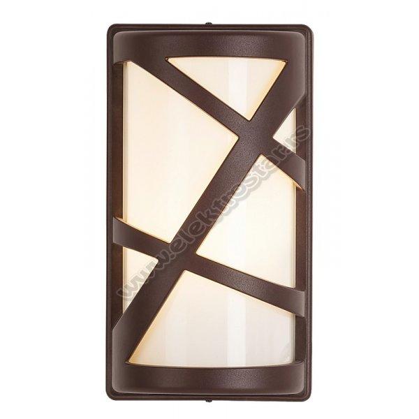 8766 SPOLJNA ZIDNA LAMPA DURANGO E27 40W IP54 BRAON