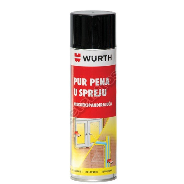 PUR PENA U SPREJU 500ml WURTH