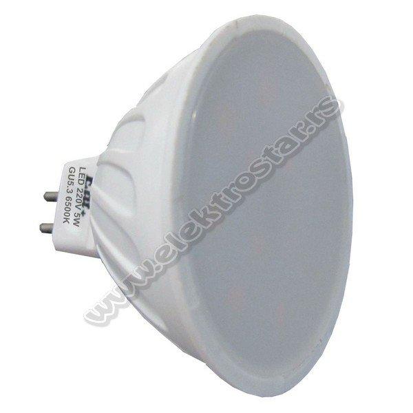 EL1206 LED 5W MR16 220V 6500K