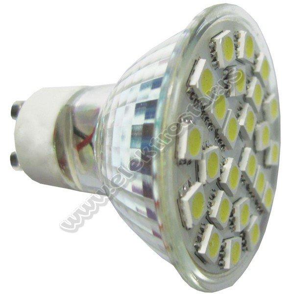 EL13213 LED 4W GU10 21SMD 6500K